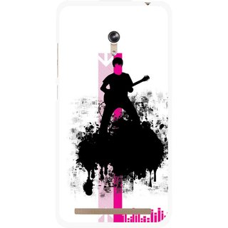 Snooky Printed Music In Air Mobile Back Cover For Asus Zenfone 6 - Multi