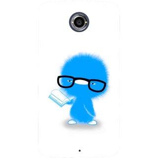 Snooky Printed My Teacher Mobile Back Cover For Motorola Nexus 6 - Multicolour
