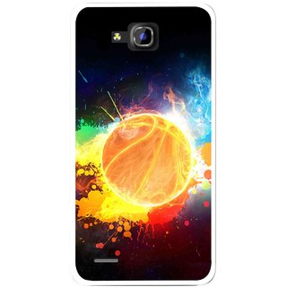 Snooky Printed Paint Globe Mobile Back Cover For Huawei Honor 3C - Multi