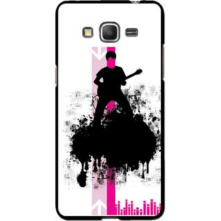 Snooky Printed Music In Air Mobile Back Cover For Samsung Galaxy Grand Max - Multi