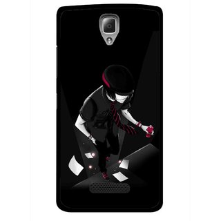 Snooky Printed Hep Boy Mobile Back Cover For Lenovo A2010 - Multicolour