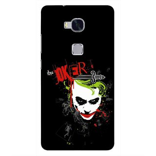 Snooky Printed The Joker Mobile Back Cover For Huawei Honor 5X - Multi