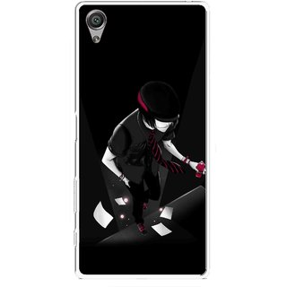 Snooky Printed Hep Boy Mobile Back Cover For Sony Xperia X - Multicolour