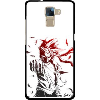 Snooky Printed Marshalat Mobile Back Cover For Huawei Honor 7 - Multi