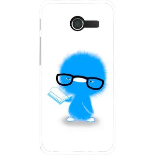 Snooky Printed My Teacher Mobile Back Cover For Asus Zenfone 4 - White