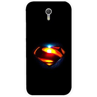 Snooky Printed Super Hero Mobile Back Cover For Lenovo Zuk Z1 - Black