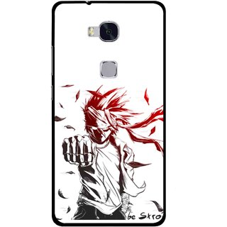 Snooky Printed Marshalat Mobile Back Cover For Huawei Honor 5X - Multi