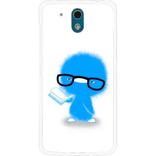Snooky Printed My Teacher Mobile Back Cover For HTC Desire 326G - White