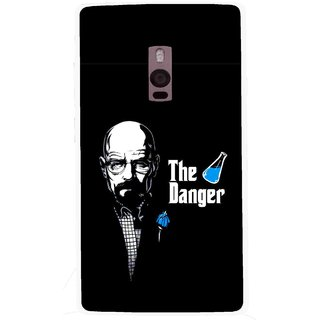 Snooky Printed The Danger Mobile Back Cover For OnePlus 2 - Black