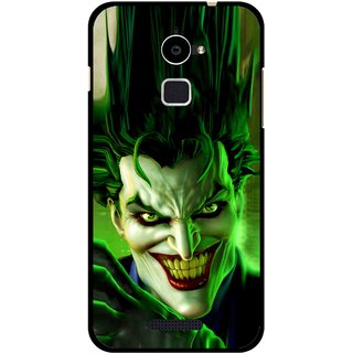 Snooky Printed Horror Wilian Mobile Back Cover For Coolpad Note 3 Lite - Green