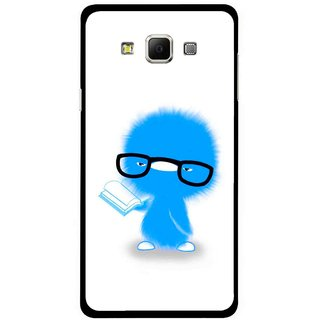 Snooky Printed My Teacher Mobile Back Cover For Samsung Galaxy E5 - White