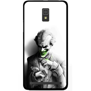 Snooky Printed Wilian Mobile Back Cover For Lenovo A6600 - Multicolour