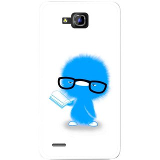 Snooky Printed My Teacher Mobile Back Cover For Huawei Honor 3C - White