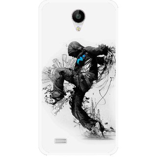 Snooky Printed Enjoying Life Mobile Back Cover For Vivo Y22 - White