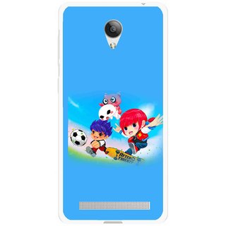 Snooky Printed Childhood Mobile Back Cover For Vivo Y28 - Multicolour