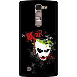 Snooky Printed The Joker Mobile Back Cover For Lg Magna - Multi
