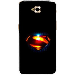 Snooky Printed Super Hero Mobile Back Cover For Lg G Pro Lite - Black