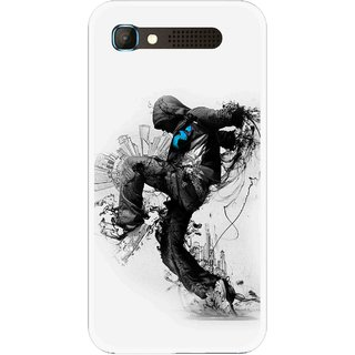Snooky Printed Enjoying Life Mobile Back Cover For Intex Aqua Y2 Pro - White