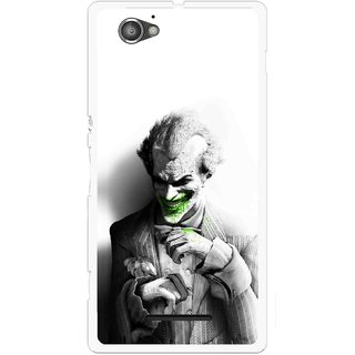 Snooky Printed Wilian Mobile Back Cover For Sony Xperia M - Multicolour