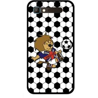 Snooky Printed Football Cup Mobile Back Cover For Intex Aqua Y2 Pro - Multicolour
