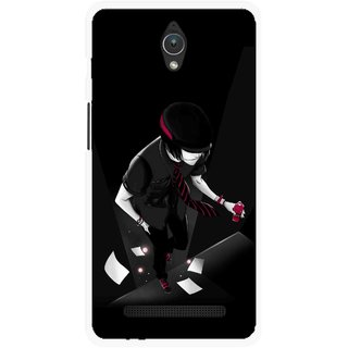 Snooky Printed Hep Boy Mobile Back Cover For Asus Zenfone C - Multicolour