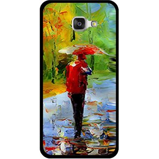 Snooky Printed Painting Mobile Back Cover For Samsung Galaxy A3 (2016) - Multi