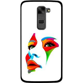 Snooky Printed Modern Girl Mobile Back Cover For Lg Stylus 2 - Multi