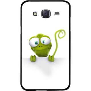 Snooky Printed Seeking Alien Mobile Back Cover For Samsung Galaxy J7 - Multicolour