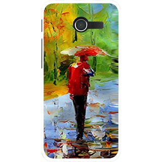 Snooky Printed Painting Mobile Back Cover For Asus Zenfone 4 - Multi