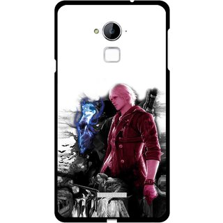 Snooky Printed Fighter Boy Mobile Back Cover For Coolpad Note 3 - Multi