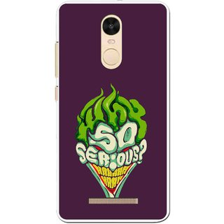 Snooky Printed Serious Mobile Back Cover For Gionee S6s - Multi