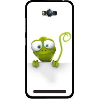 Snooky Printed Seeking Alien Mobile Back Cover For Asus Zenfone Max - Multicolour