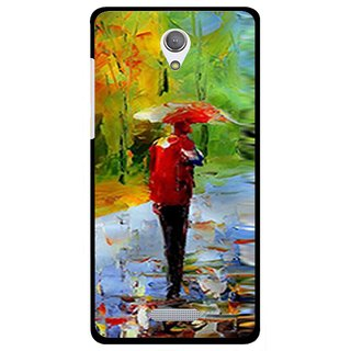 Snooky Printed Painting Mobile Back Cover For Gionee Marathon M4 - Multi