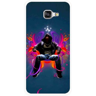 Snooky Printed Live In Attitude Mobile Back Cover For Samsung Galaxy A3 (2016) - Multicolour