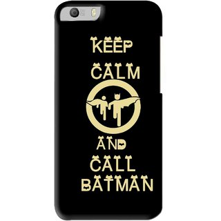 Snooky Printed Keep Calm Mobile Back Cover For Micromax Canvas Knight 2 E471 - Black
