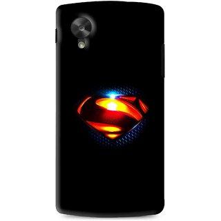 Snooky Printed Super S Mobile Back Cover For Lg G5 - Black