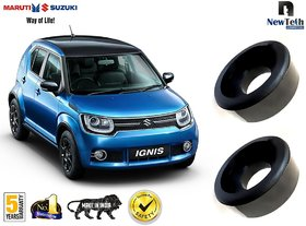 Maruti Suzuki Ignis Ground Clearance Kit (Fits : Above Rear Coil Springs) Set of 2 Pcs, Front not Required
