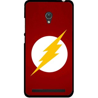 Snooky Printed High Voltage Mobile Back Cover For Asus Zenfone Go ZC451TG - Multicolour