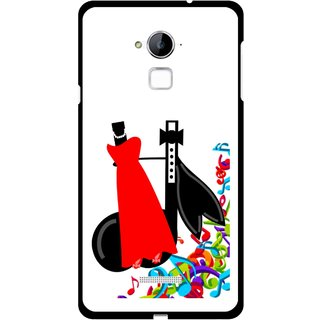 Snooky Printed Fashion Mobile Back Cover For Coolpad Note 3 - Multi