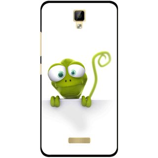 Snooky Printed Seeking Alien Mobile Back Cover For Gionee P7 - Multicolour