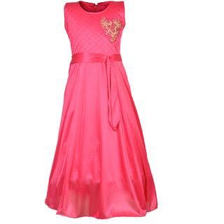 0d9f887aa6d Buy Aarika Girl s Designer Party Wear Gown Online - Get 78% Off