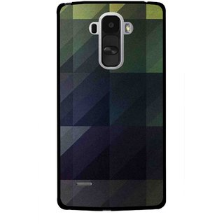Snooky Printed Geomatric Shades Mobile Back Cover For Lg G4 Stylus - Multi
