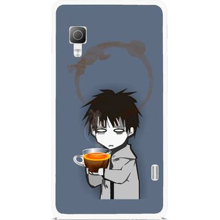 Snooky Printed Need Rest Mobile Back Cover For Lg Optimus L5II E455 - Multicolour