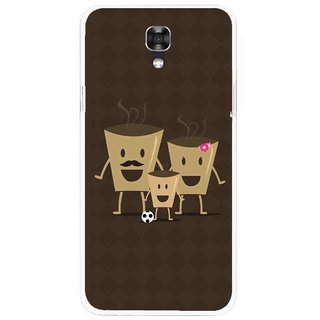 Snooky Printed Wake Up Coffee Mobile Back Cover For Lg X Screen - Multicolour