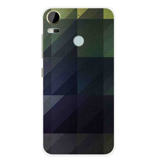Snooky Printed Geomatric Shades Mobile Back Cover For HTC Desire 10 Pro - Multi