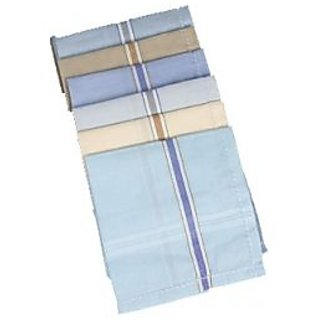 BestWell Coloured Handkerchief set of 6
