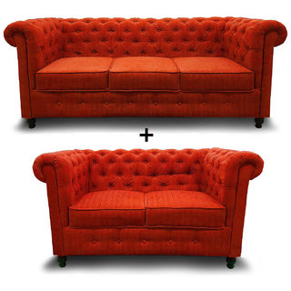 houzzcraft chesterfield sofa set(3+2)