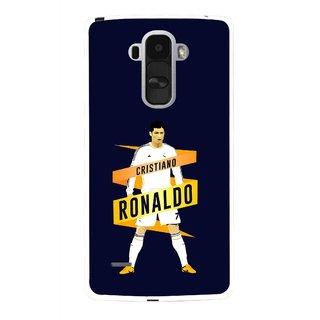 Snooky Printed Ronaldo Mobile Back Cover For Lg G4 Stylus - Multi