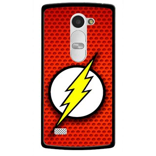 Snooky Printed Dont Touch Mobile Back Cover For Lg Leon - Red