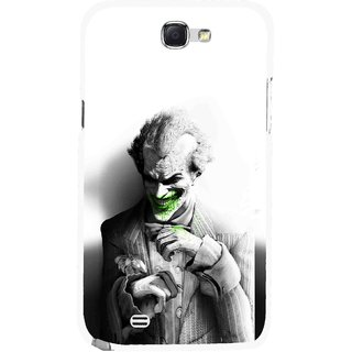 Snooky Printed Wilian Mobile Back Cover For Samsung Galaxy Note 2 - Multicolour